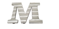 "2½"" Stainless Steel Block Letters"