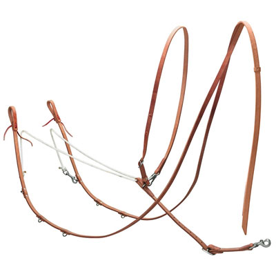 Weaver Harness Leather German Martingale