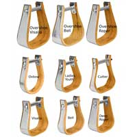 Weaver Leather Wood Stirrups