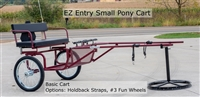 EZ Entry Small Pony Cart