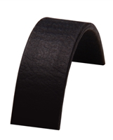520 BETA BLACK SUPER HEAVY MATTE BIOTHANE - Leather Embossed | BioThane® USA