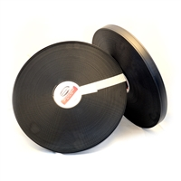 TWO GROOVE BETA 580 SUPER HEAVY BLACK  Multiple Widths | BioThane® USA