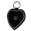 "N & A Harness Shop 7"" Heart with Spots"