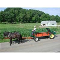 EZ Spreader 75 Bushel  Spreader