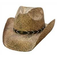 Cov-ver Smokey Ridge Raffia Hat