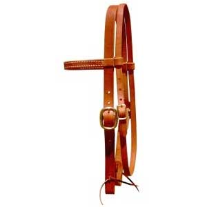 Leather Workman Browband Headstall - Berlin Custom Leather