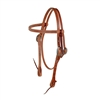 Herman Oak Harness Leather Headstall by Berlin Custom Leather in Ohio