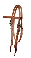 Cowboy Culture Browband Leather Headstall