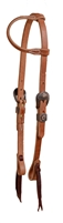 Cowboy Culture One Ear Leather Headstall