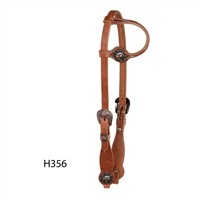Cowboy Culture Series - One Ear Headstall by Berlin Custom Leather in Ohio