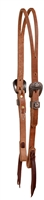 Cowboy Culture Slit Ear Leather Headstall