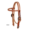 Cowboy Culture Series - Browband Headstall by Berlin Custom Leather in Ohio