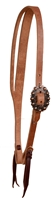 Cowboy Culture Split Ear Leather Headstall
