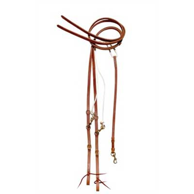 High quality Harness Leather German Martingale with split reins
