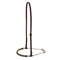 Double Rope Noseband Custom Leather in Ohio