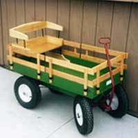Children's Wagon Model 1000 | Working Horse Tack - Amish Country