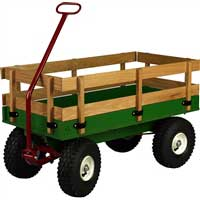 Children's Wagon Model 650 | Working Horse Tack - Amish Country