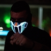 Music Beats Activated Led Rave Mask