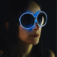 Round LED Vintage Eye Glasses
