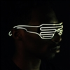 Shutter Shade Led Eye Glasses