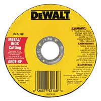 Type 1 Thin Metal Cutting Wheels, HP, 4-1/2 in x .045 in x 7/8 in, 13300 rpm