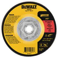"DEWALT® 4-1/2"" X .045"" X 5/8"" -11 HP CUTOFF WHEEL"