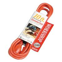 SOUTHWIRE 16/3 SJTW THREE CONDUCTOR ROUND ORANGE CORD 10'