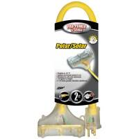 SOUTHWIRE 3-WAY 2' TRI-SOURCE ALLWEATHER CORD-LIGHTE