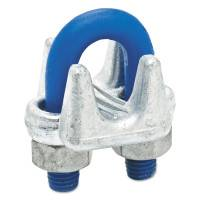 1000-G Series Wire Rope Clips, 1/2 in, Galvanized Zinc