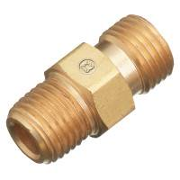 Regulator Outlet Bushings, 200 PSIG, Brass, B-Size, 1/4 in (NPT), Oxygen
