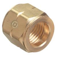 Hose Nuts, 200 PSIG, Brass, B-Size, Fuel Gas