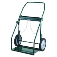 "Series 300 Trucks, Holds 9.25""-13"" Cylinder, 12 in Semi-Pneumatic/Plain Wheels"