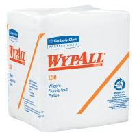 WypAll L30 Wipers, White, 90 per pack