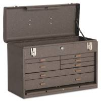 Machinists' Chests, 20 1/8 in x 8 1/2 in x 13 5/8 in, 1694 cu in, Brown Wrinkle