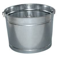 5QT GALVANIZED METAL PAIL