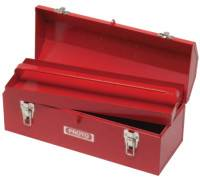 Hip Roof Tool Boxes, 7 in D, Steel, Red