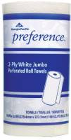 Preference Perforated Paper Towels, White, 85 Sheets/Roll