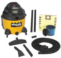 18 GAL. 6.5 PEAK HP WET/DRY VACUUM