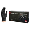 X3 Black 200 Nitrile Gloves Powder Free Latex Free [CASE]