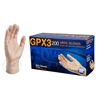 GPX3200 Vinyl Gloves Powder Free Latex Free Ambidextrous [CASE]