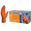 Gloveworks HD Orange Nitrile Extra Thick Diamond Texture Powder Free [CASE]