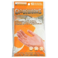 Gloveworks Vinyl 10-Pack Gloves