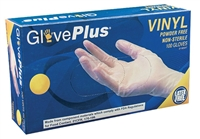 GlovePlus Vinyl Powder Free Latex Free [CASE]