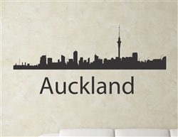 Auckland New Zealand city skyline Vinyl Wall Art