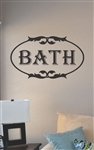 Bath Vinyl Wall Art