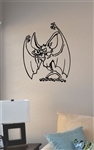 Bat with fangs Vinyl Wall Art