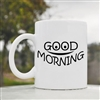 Good Morning Smile Face Coffee Mug