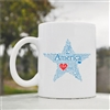 America USA stars Coffee Mug