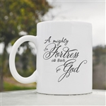 A mighty fortress is our God Coffee Mug