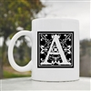 A square letter Coffee Mug